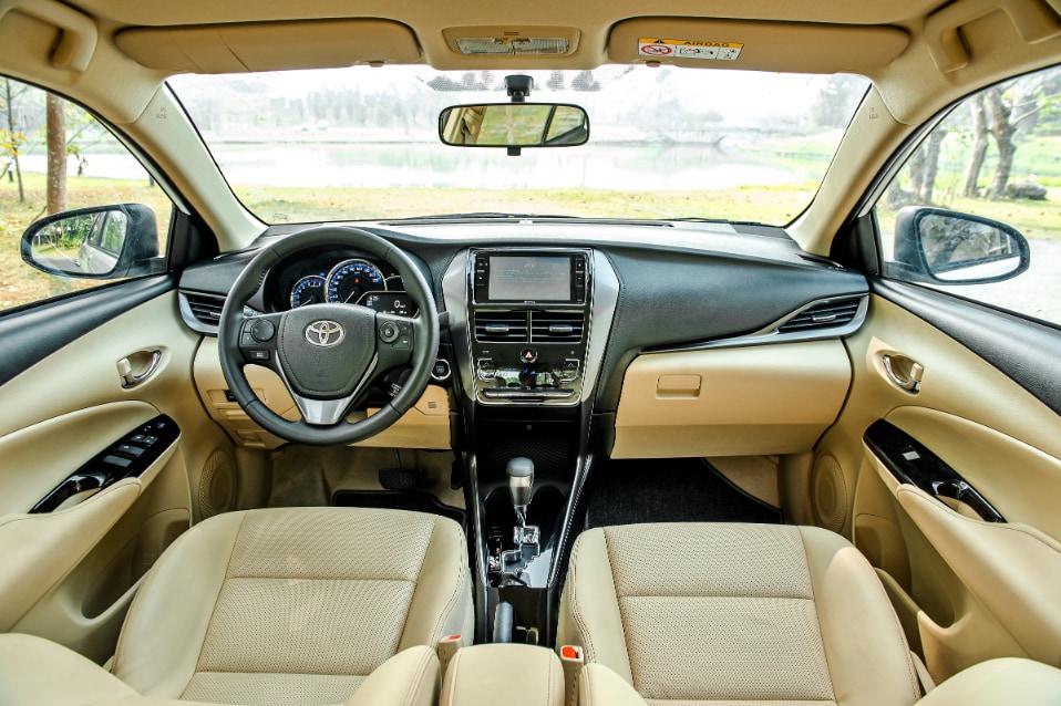 Nội thất xe Toyota Vios 2021 G