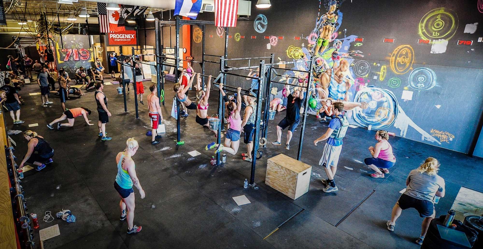 Top crossfit gyms in colorado springs