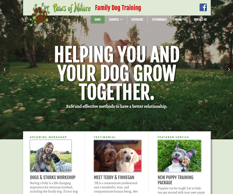 Paws of Nature Family Dog Training