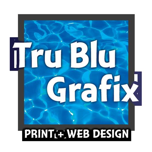 Tru Blu Grafix Print + Web Design logo