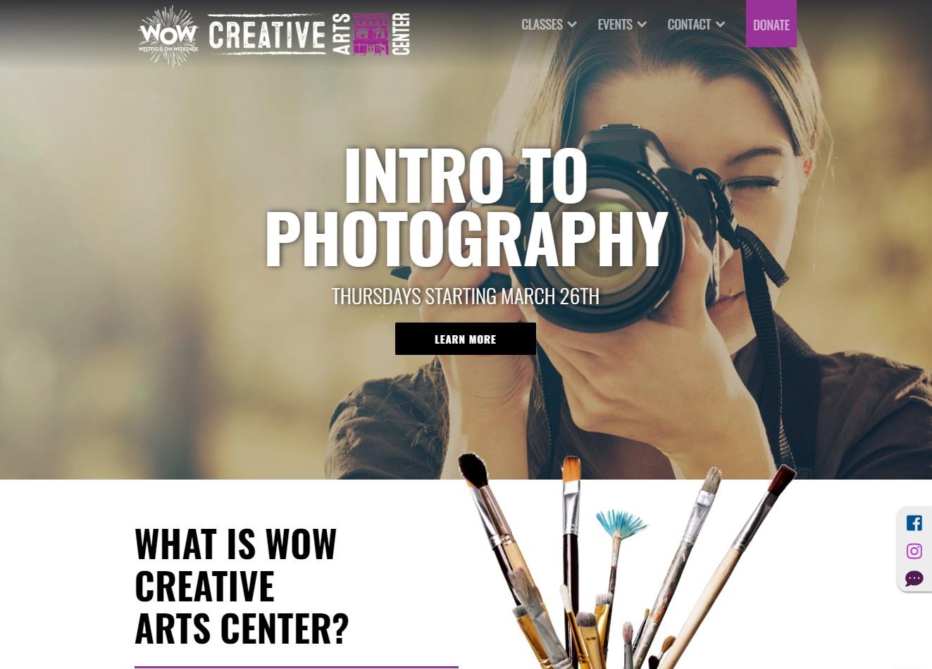 Creative Arts Center screenshot