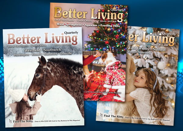 Better Living Quarterly magazine covers