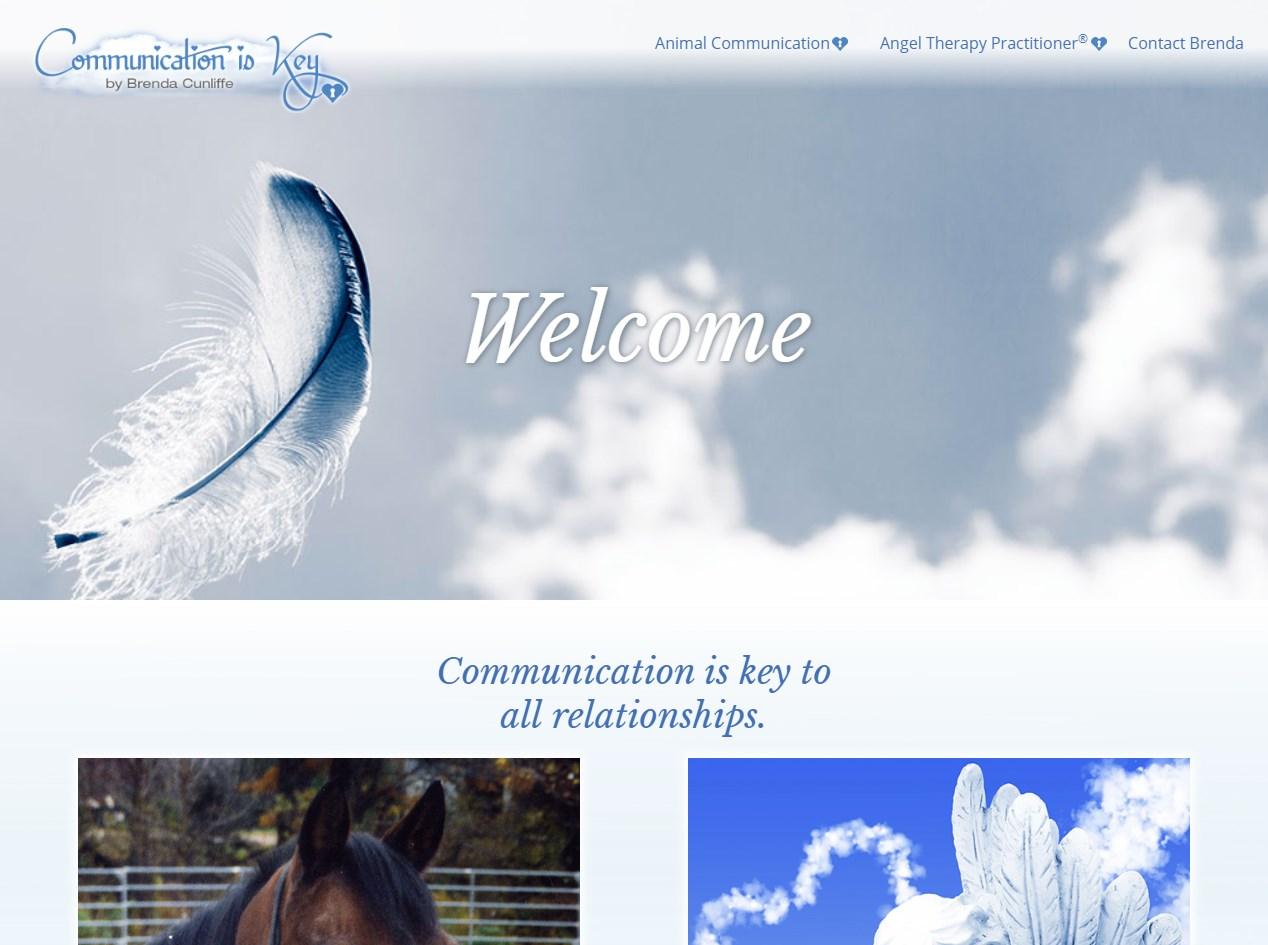 Communication is Key website screenshot