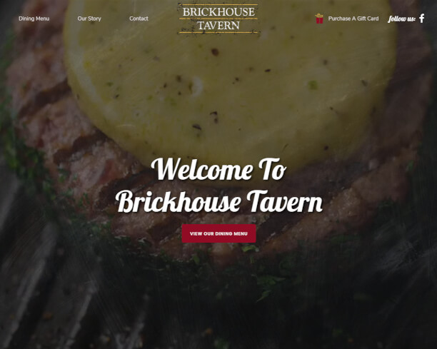 Brickhouse Tavern website