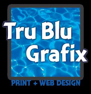 Tru Blu Design Print + Web Design