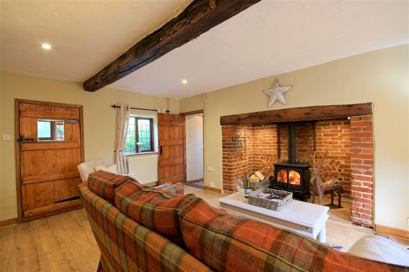 Fox Cottage Living Room 1