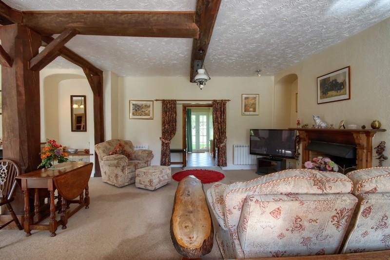 Swan Cottage Living room