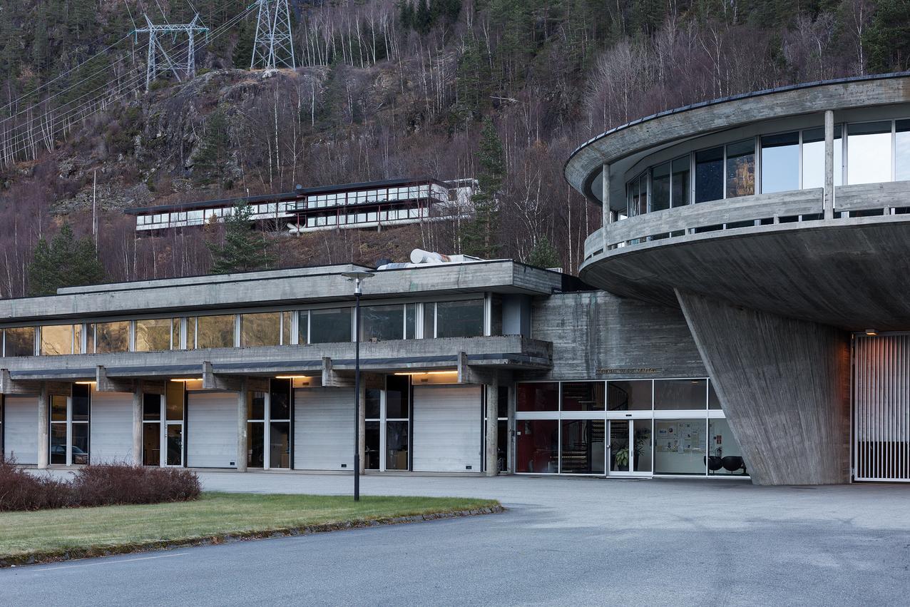 Bilde av Røldal-Suldal Kraftanlegg.