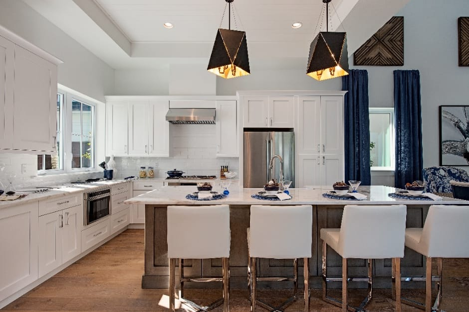 Naples FL kitchen - residences at mercato