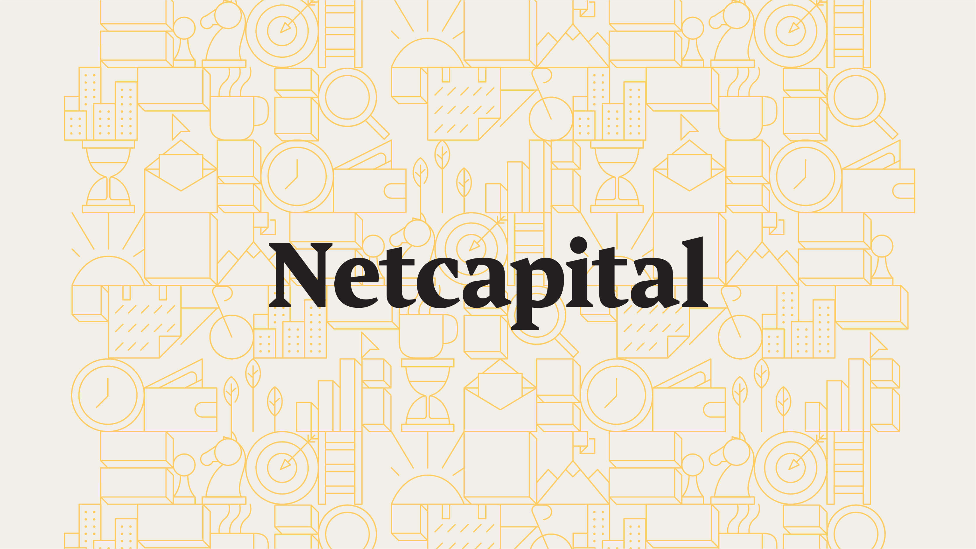 Netcapital Logo and brand patterns
