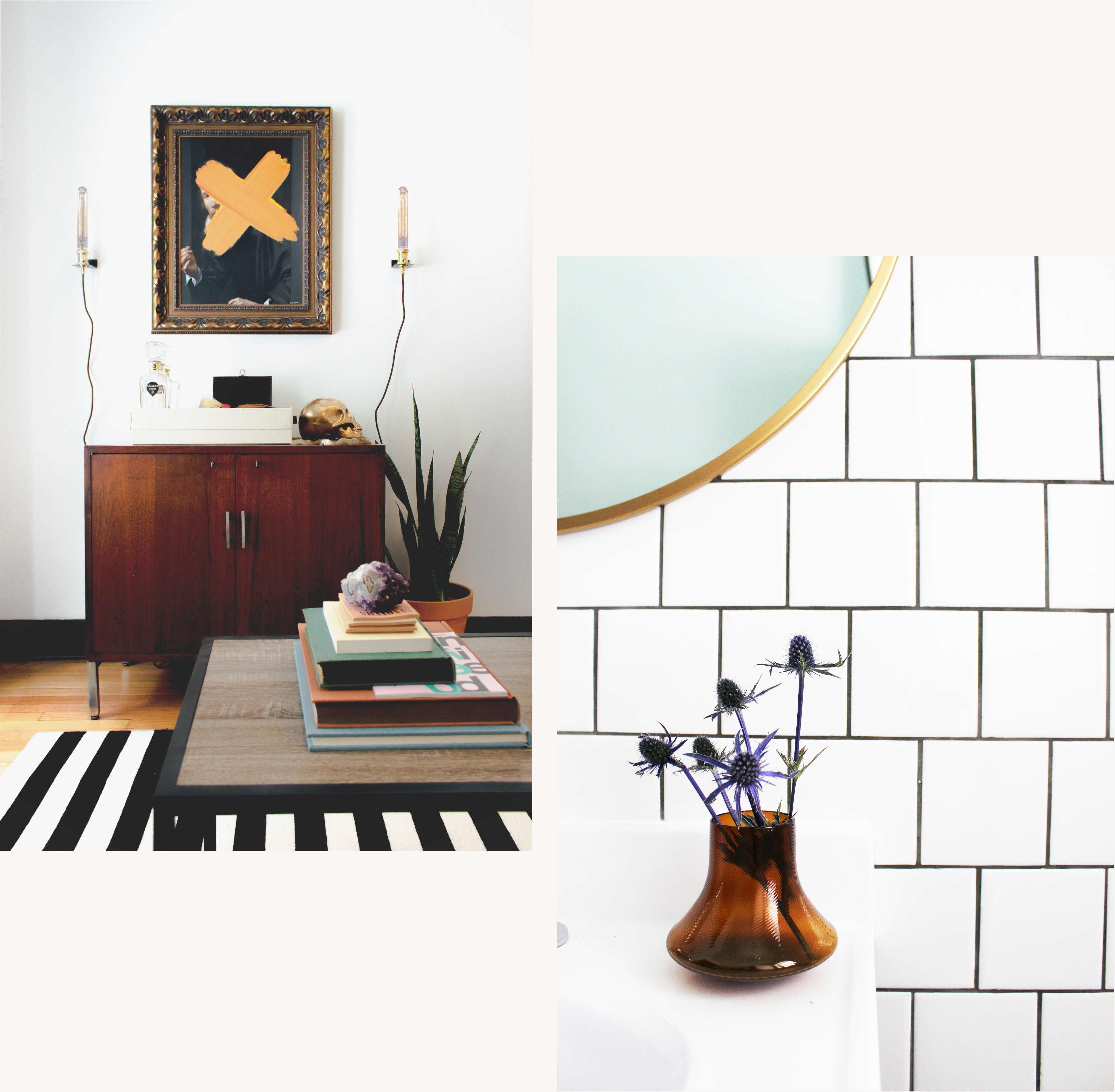 Collage of Avenir interior designs