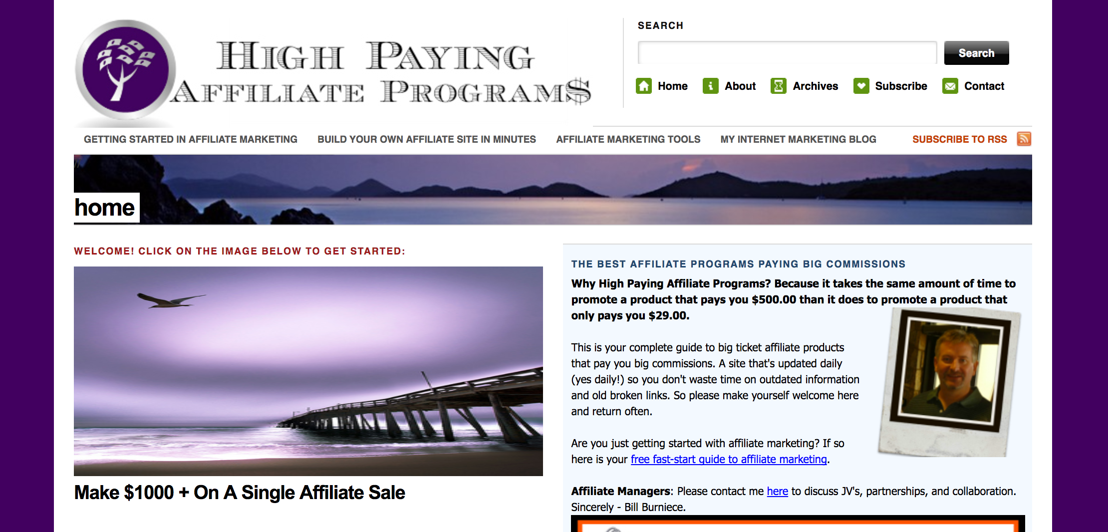 High Paying Affiliate Programs Blog