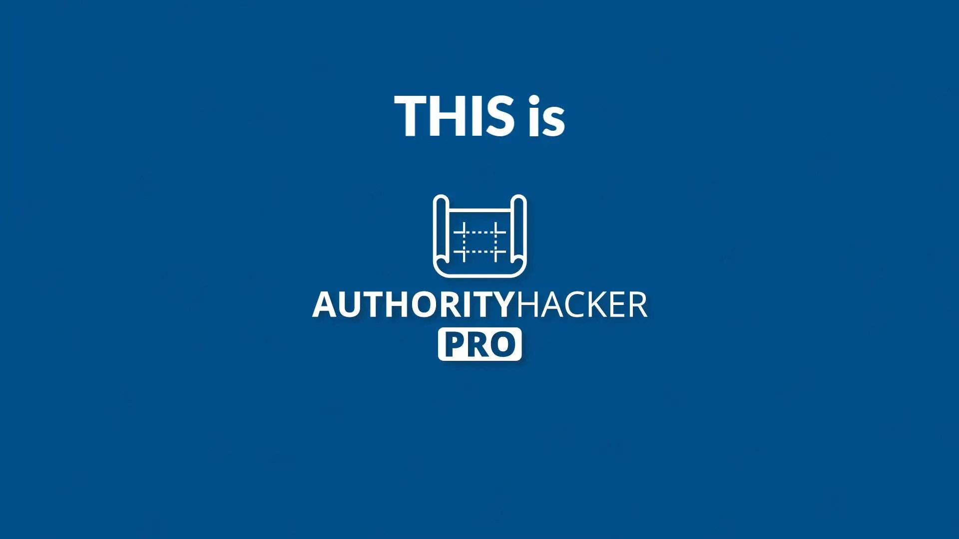 Authority Hacker Pro