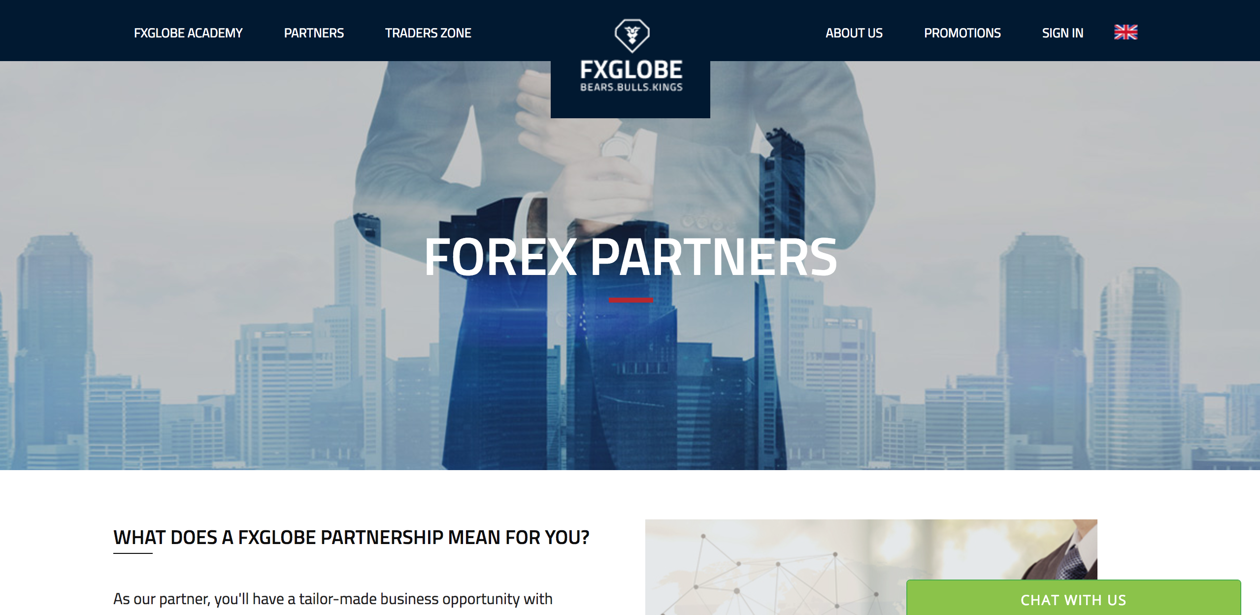 Forex partnership programs
