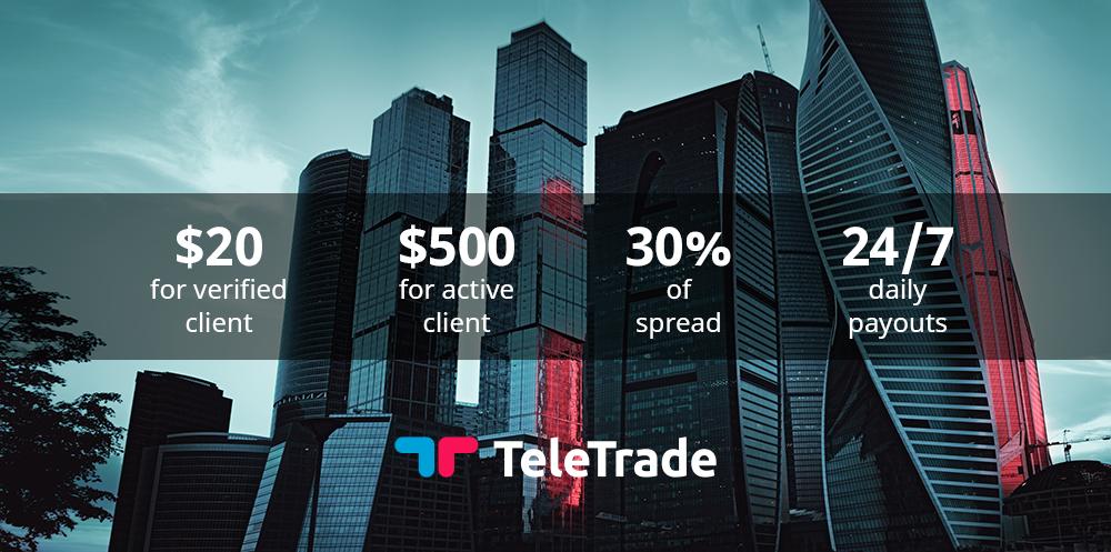 Teletrade affiliate program