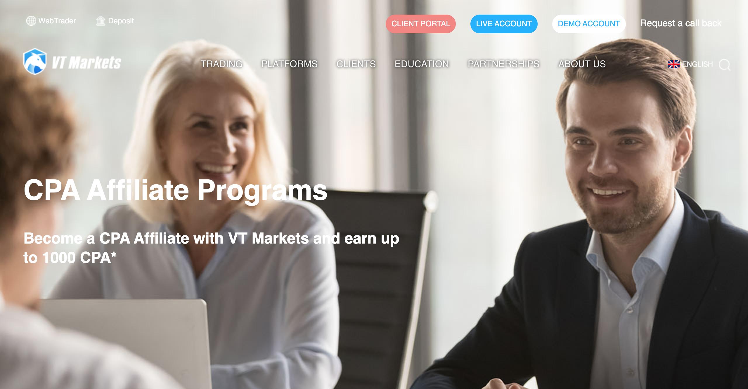 VT Markets Affiliate Program