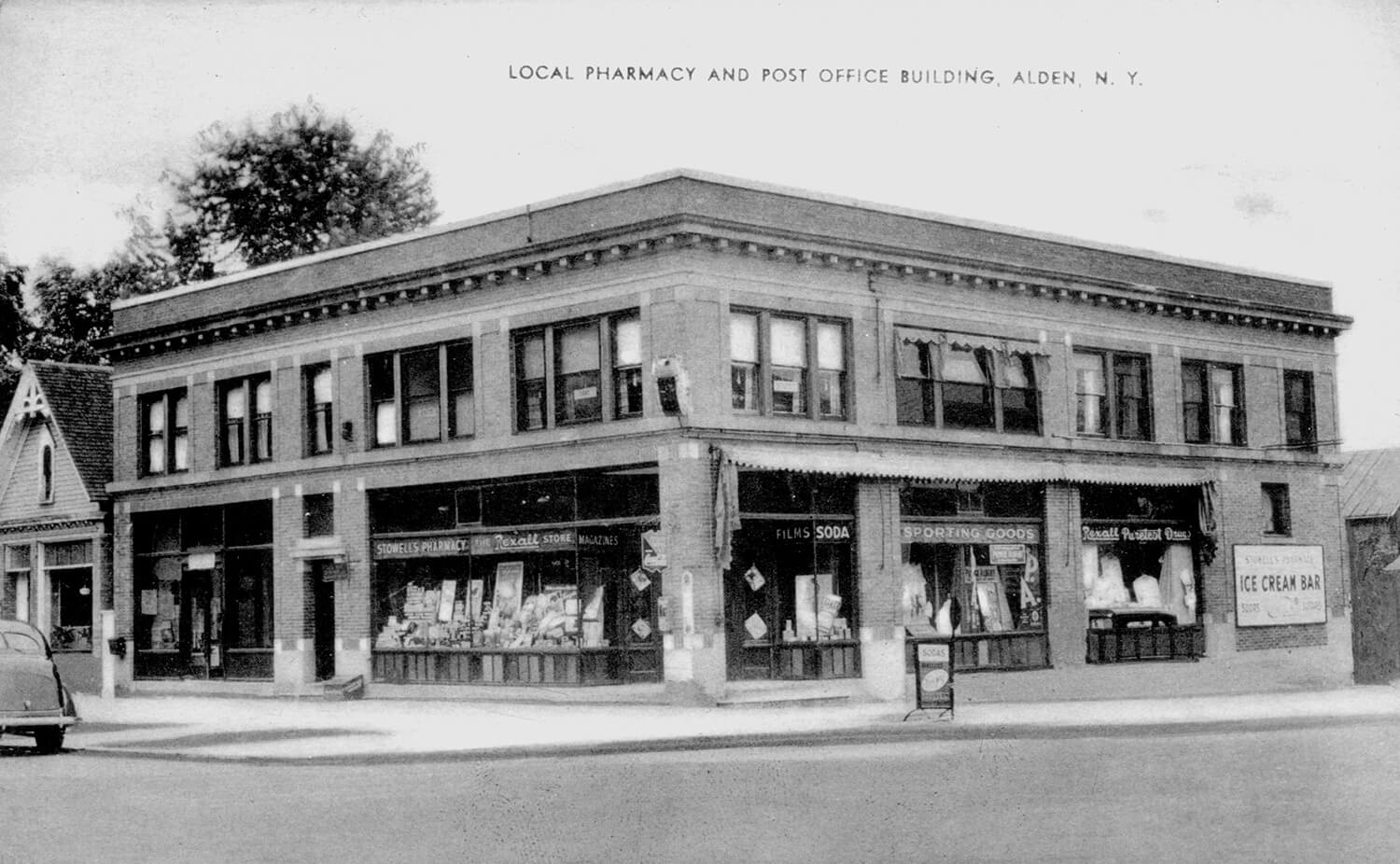 Alden Pharmacy from the 1950's