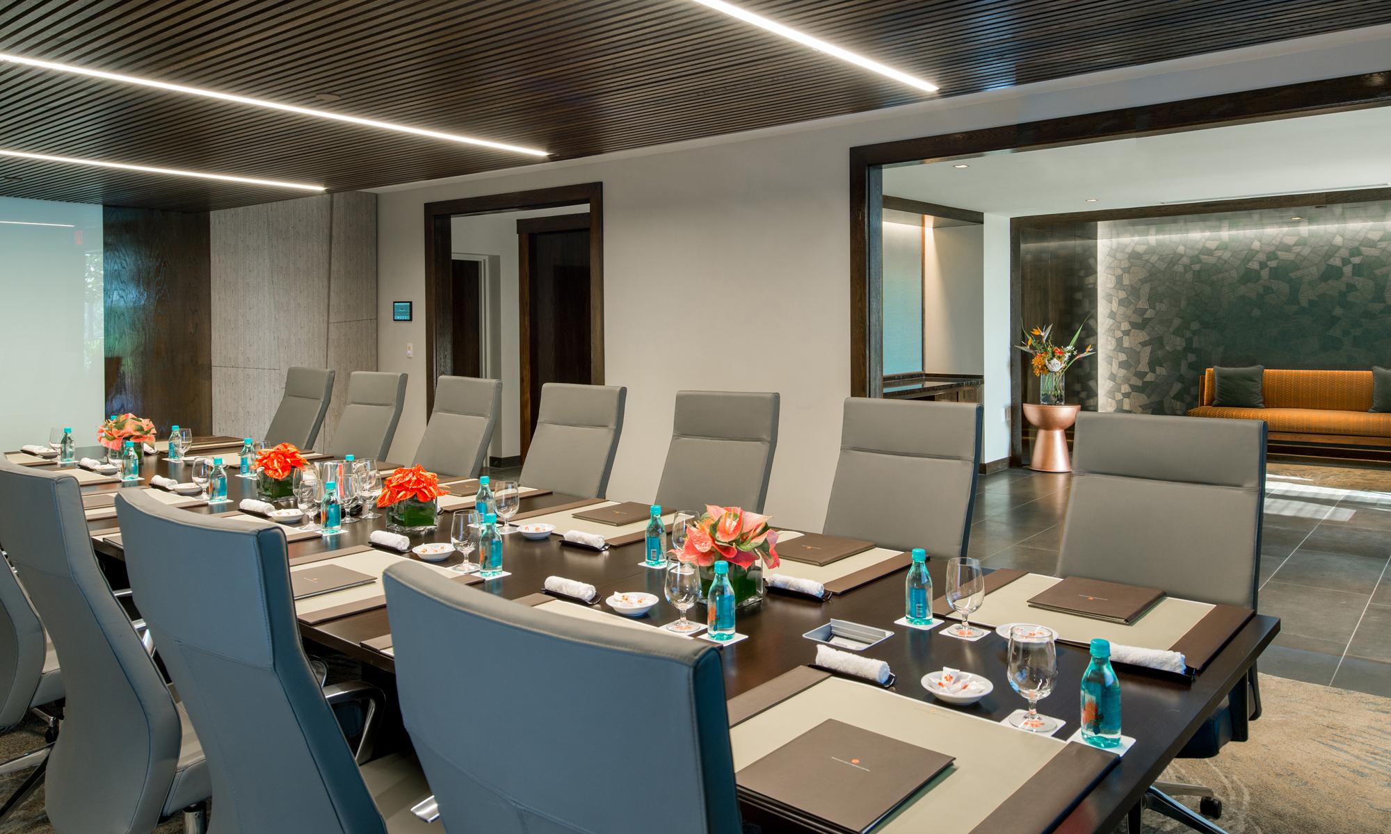 Mauna Kea Beach Hotel Lloyd Sexton Gallery Meeting Rooms & Boardroom