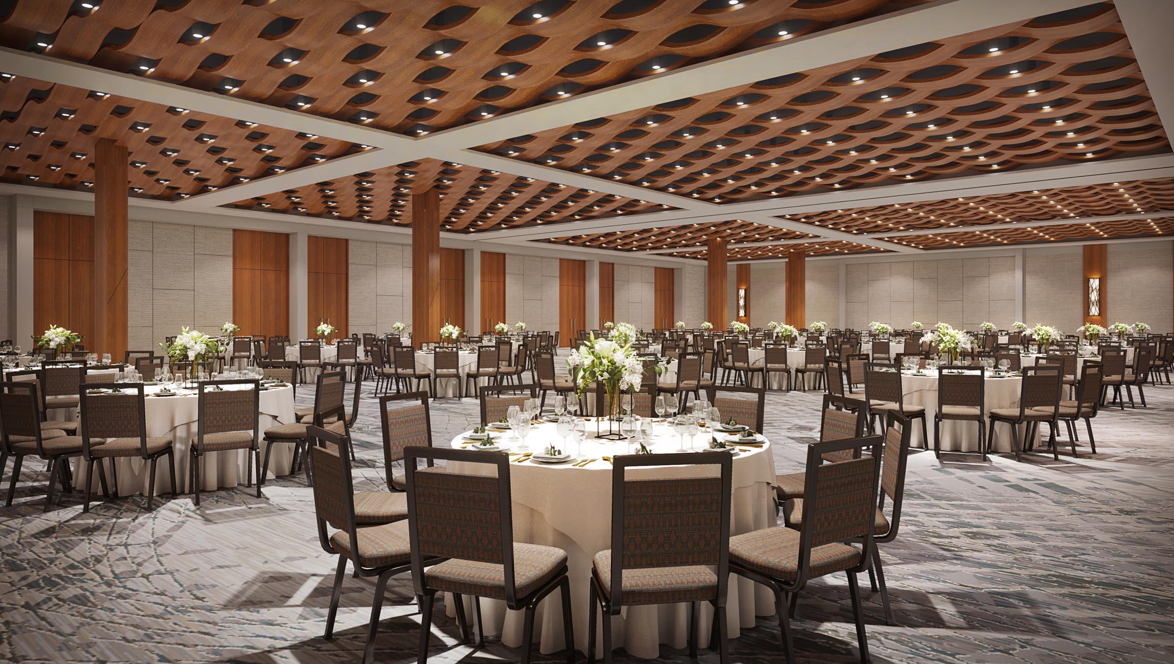 Alohilani Resort Waikiki Beach Meeting Rooms, Prefunction, and Ballroom - Interior Design