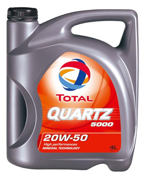 TOTAL QUARTZ 5000 20W-50