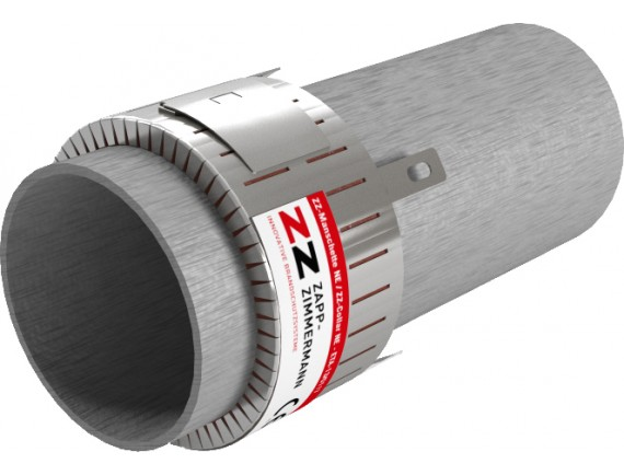 Two cuff models that cover a wide range of pipe sizes. Can be handily installed around an existing pipeline.