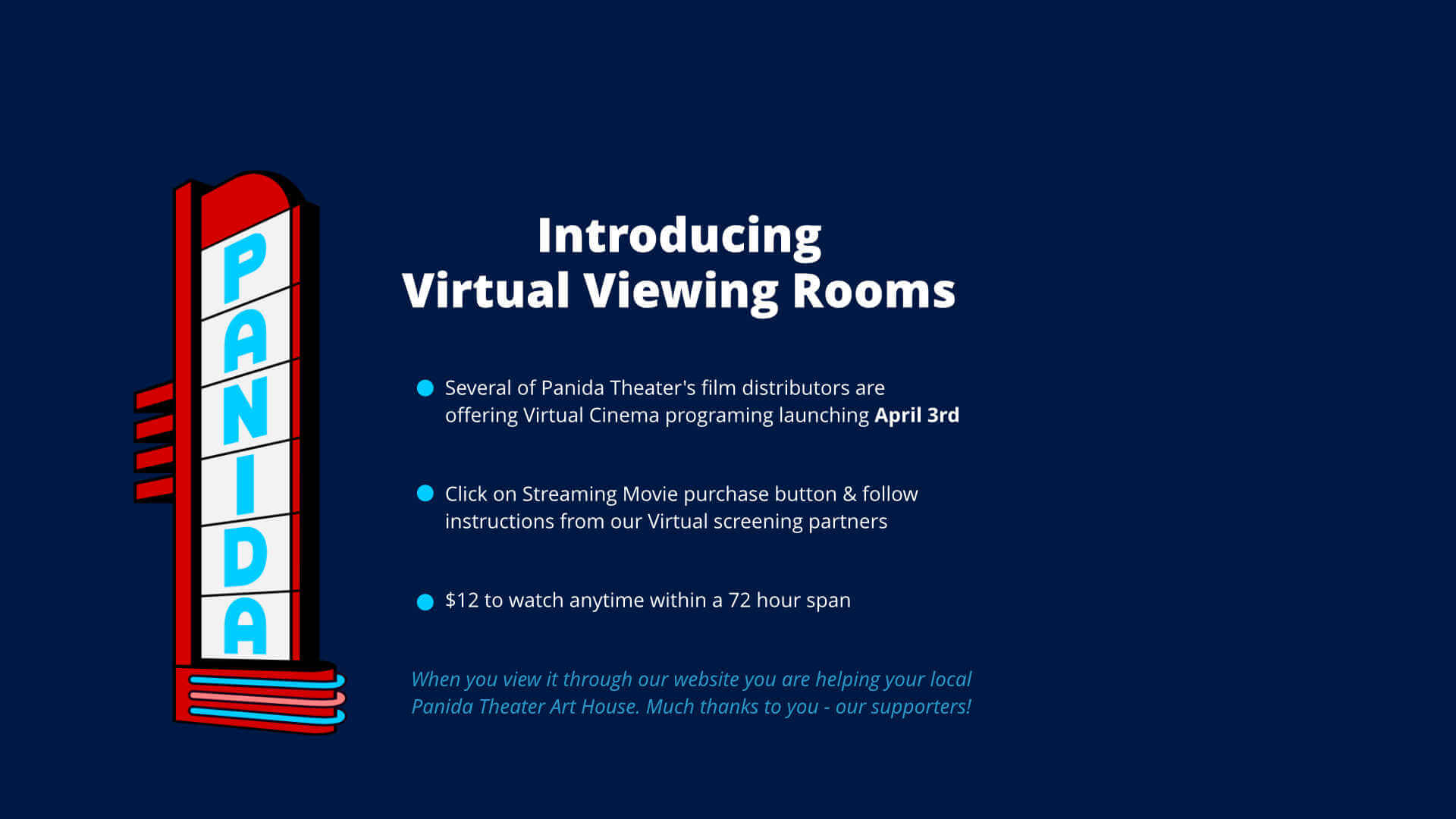 Virtual Viewing Rooms