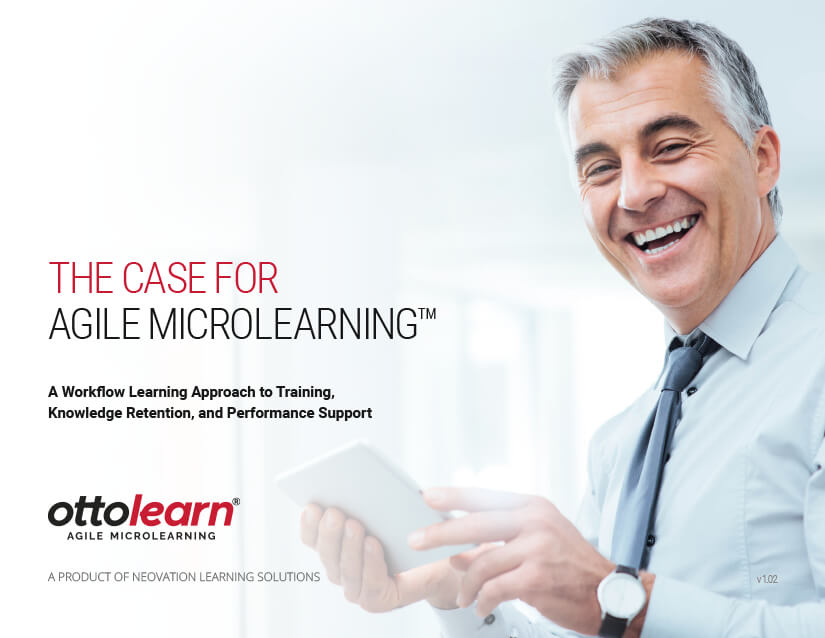 Cover for the Case for Agile Microlearning PDF - OttoLearn Personalized Learning