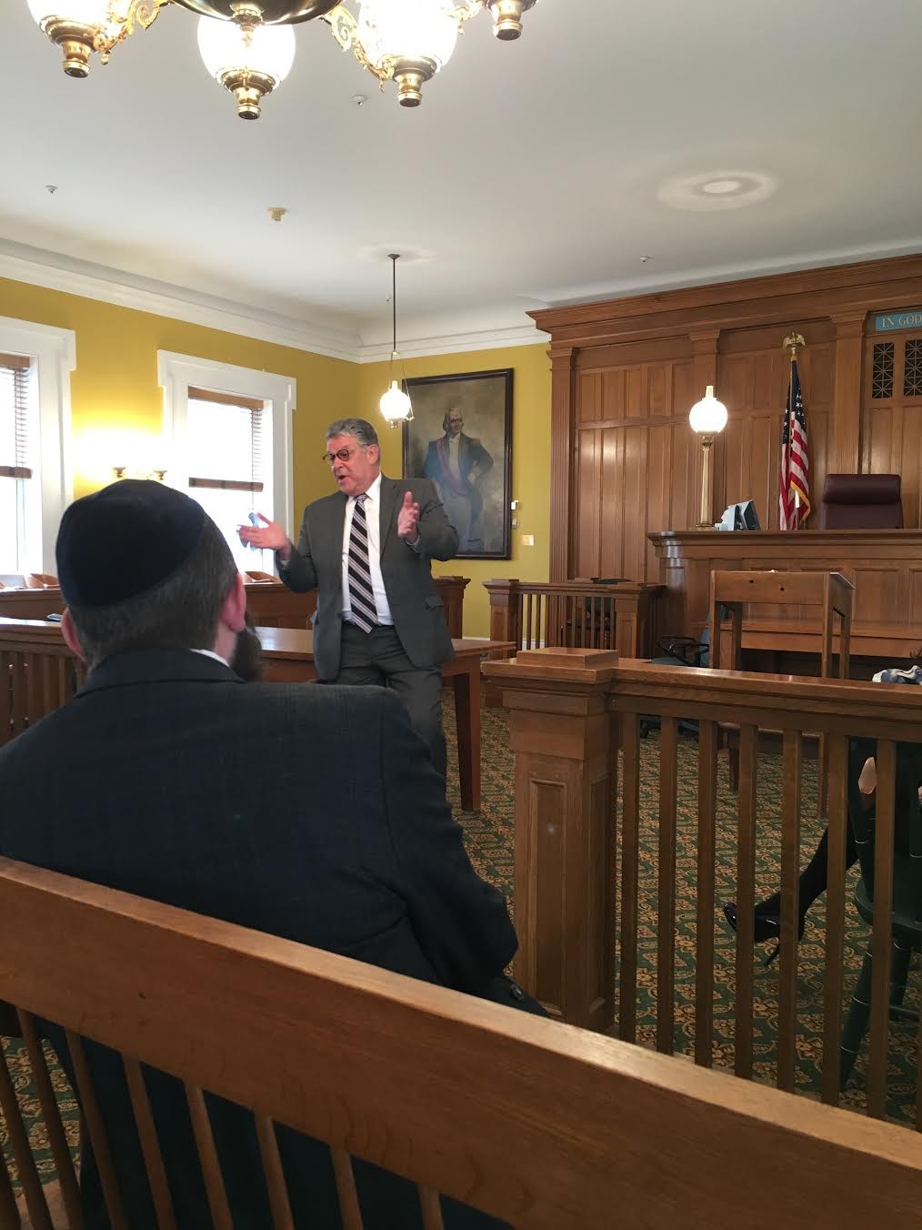 Putnam County Bar Association lawyer in court