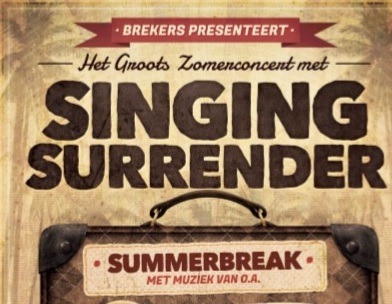 10 juli Zomer Concert Singing Surrender