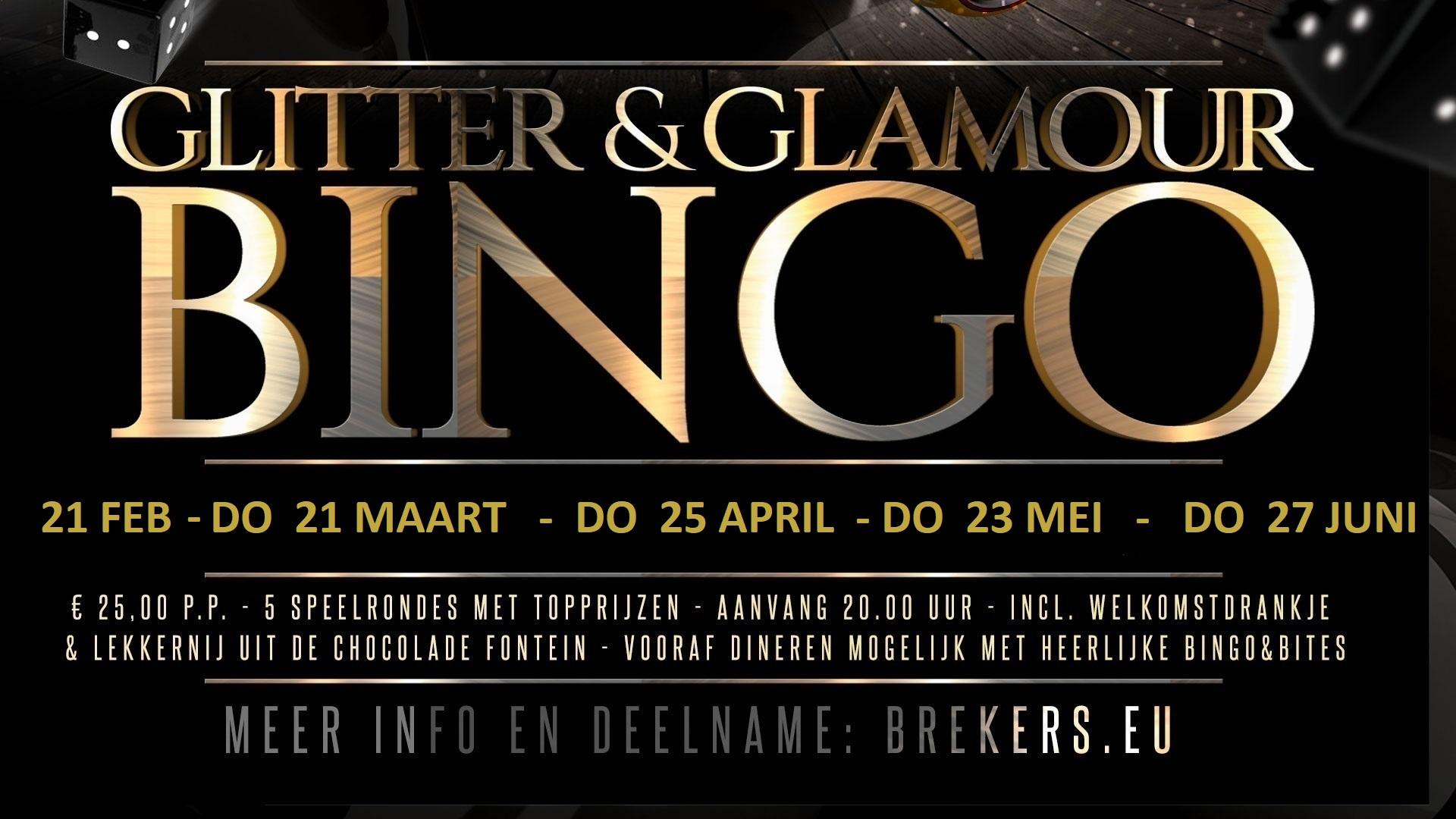 Glitter & Glamour Bingo 21 februari