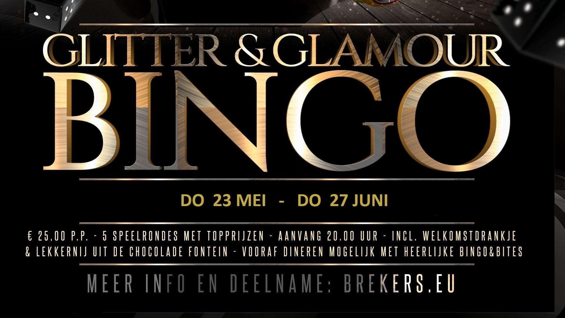 Glitter & Glamour Bingo 23 mei