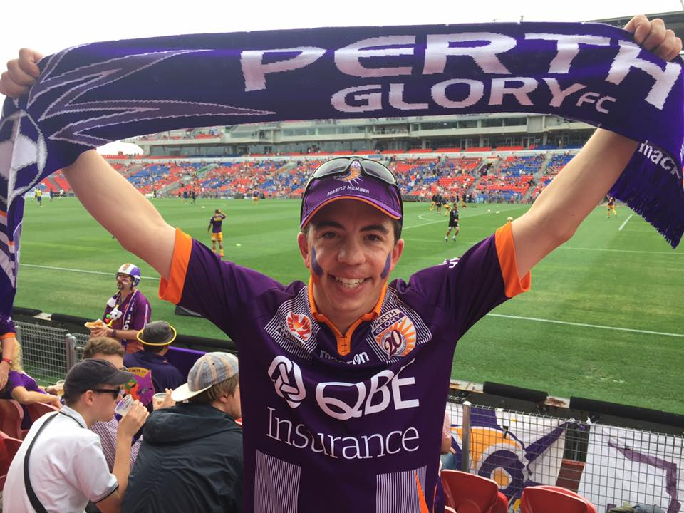 Perth Glory supporter