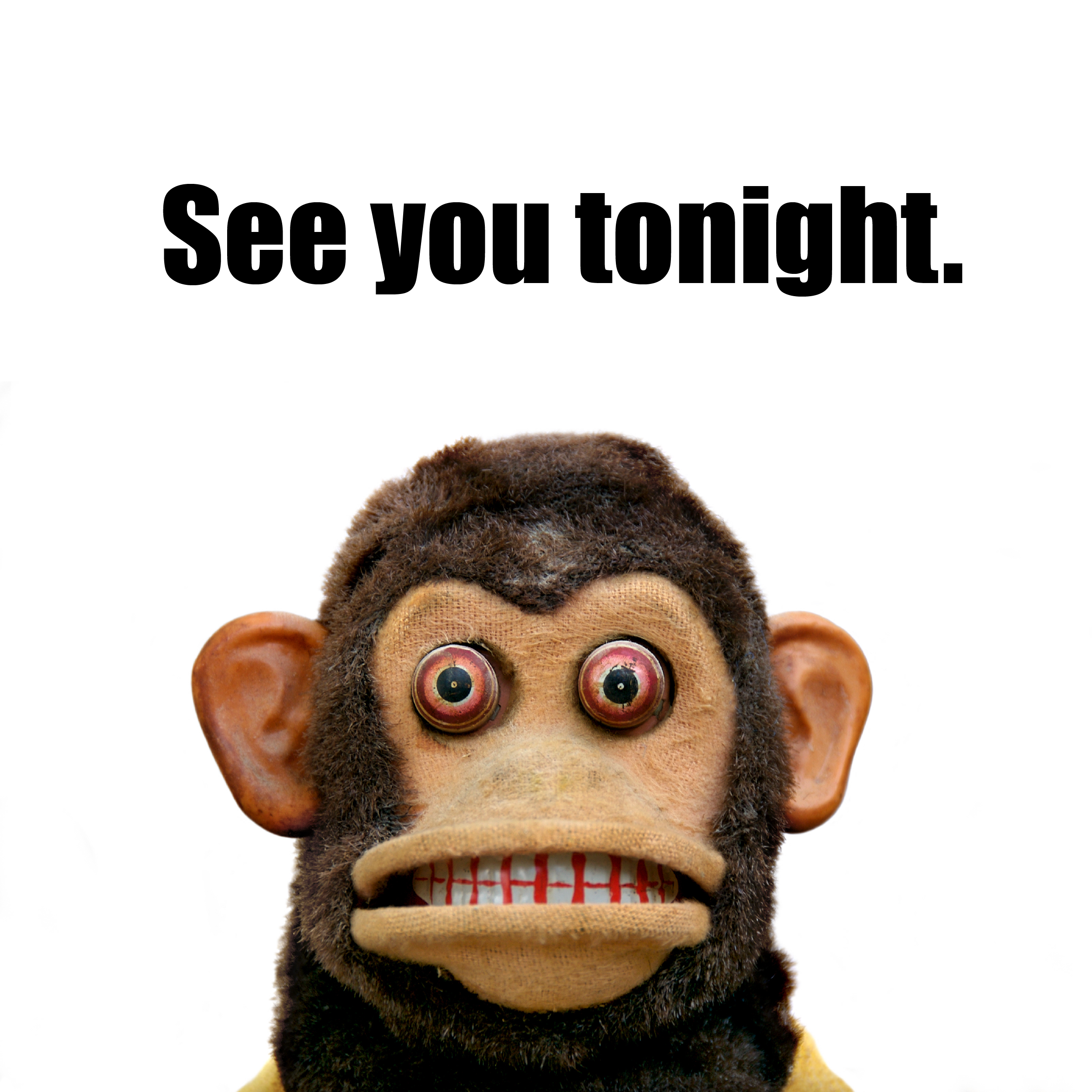 see you tonight musical jolly chimp