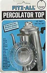 "Stove Percolator Glass Top - Replacement For 1 1/2"" To 2 1/2"""