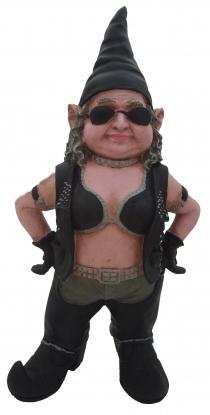 Biker Babe Gnome