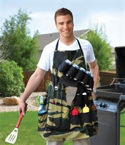guy wearing beer apron
