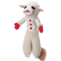 Lamb Chop Puppet W/phrases