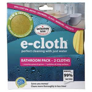 E-cloth Bathroom 2 Pack