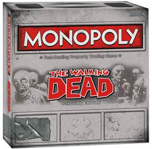 """Walking Dead"" Monopoly"