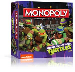"""Teenage Mutant Ninja Turtles"" Monopoly"