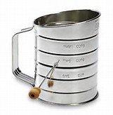 Flour Sifter - 3 Cup