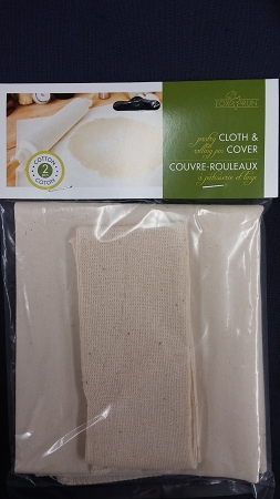 Pastry Cloth And Rolling Pin Cover