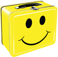 Happy Face Tin Box