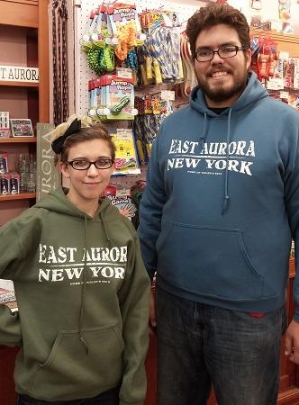 """""""East Aurora"""" Hoodie"""