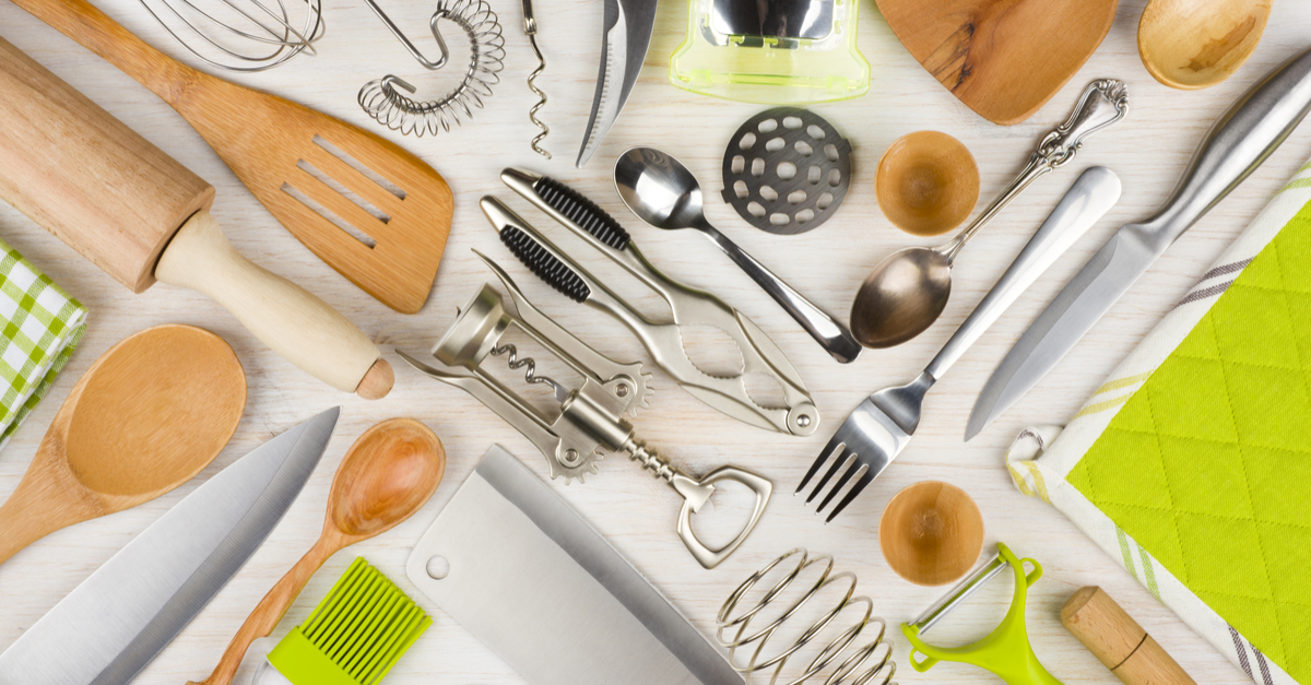 Common cooking utensils