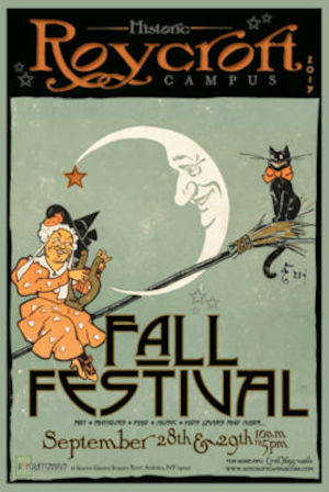 Roycroft campus fall festival