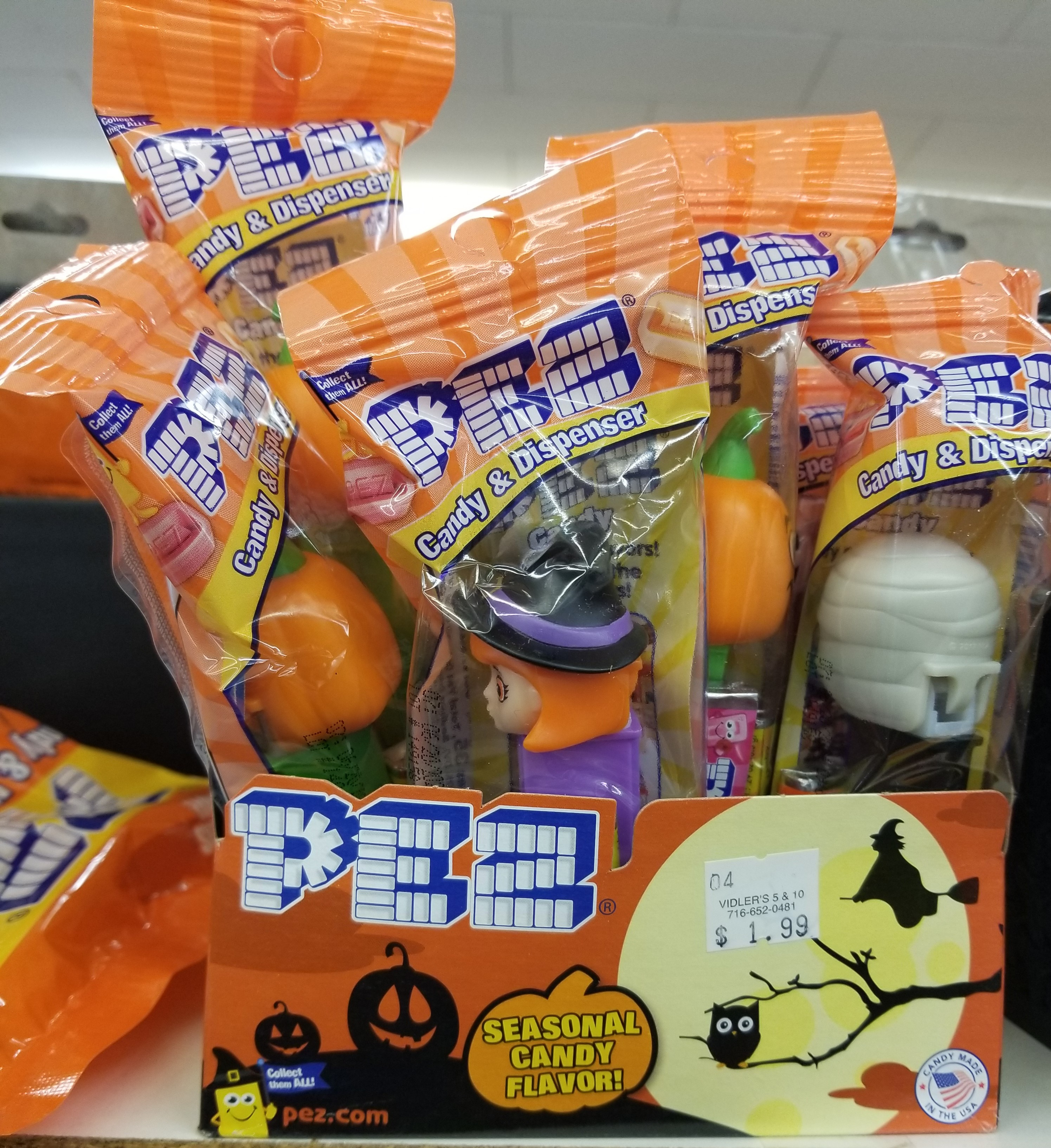 Halloween Pez