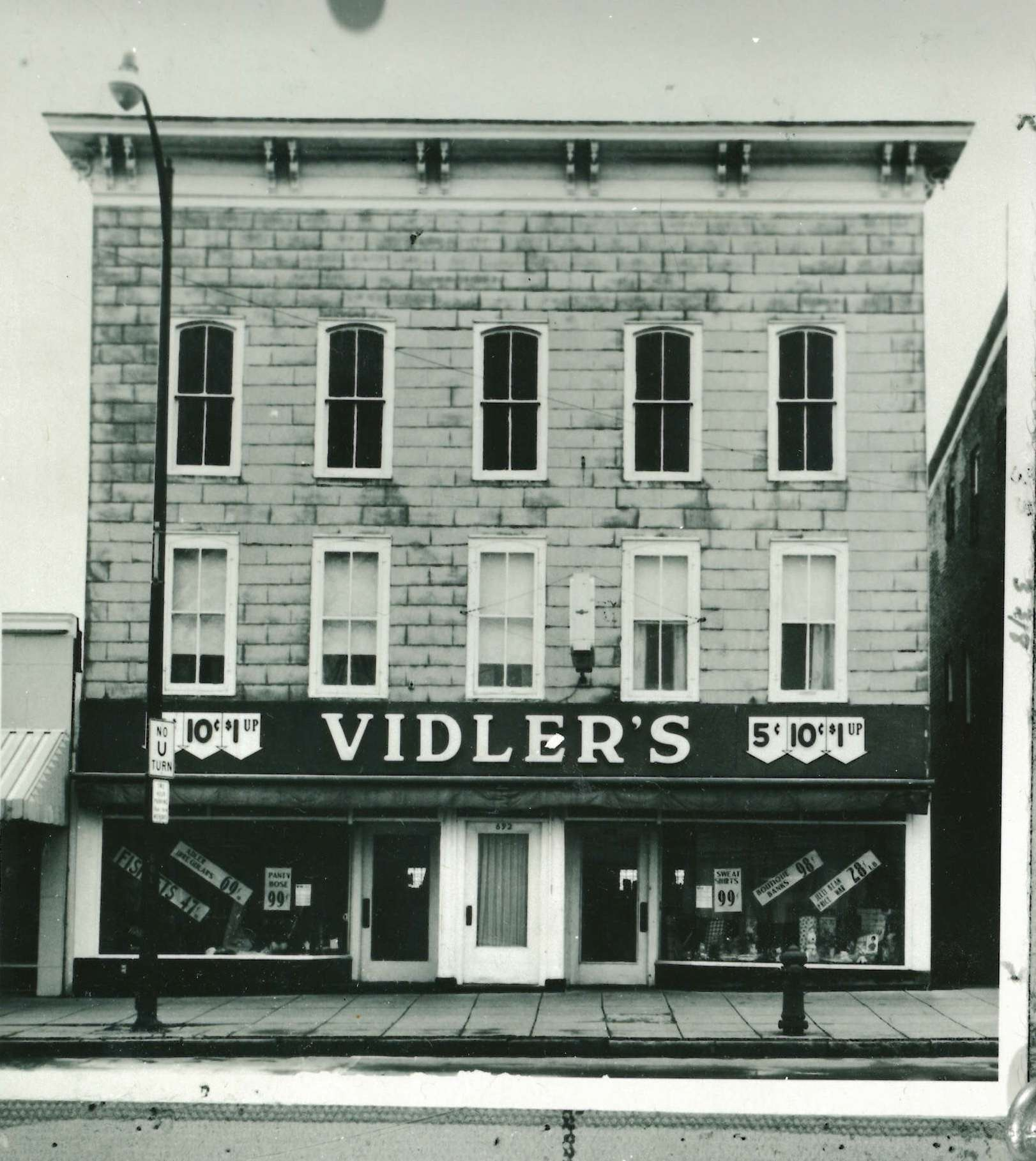 vidlers storefont early 60s