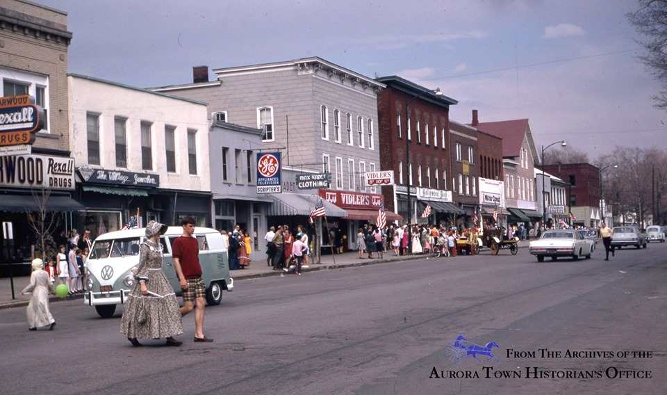 Main street sidewalk sale 1968