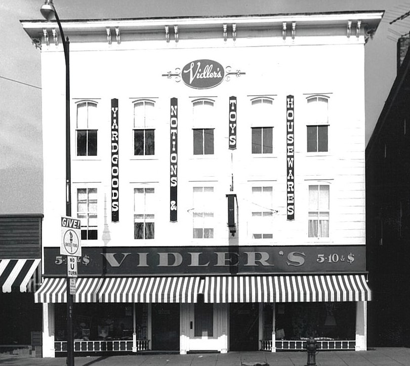 Rix Jennings redesigns store front to better reflect historic and nostalgic appearance.